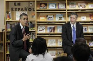 President Obama and Secretary Duncan