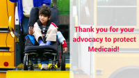 Thanks for Medicaid Advocacy