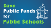 Save public funds for public schools