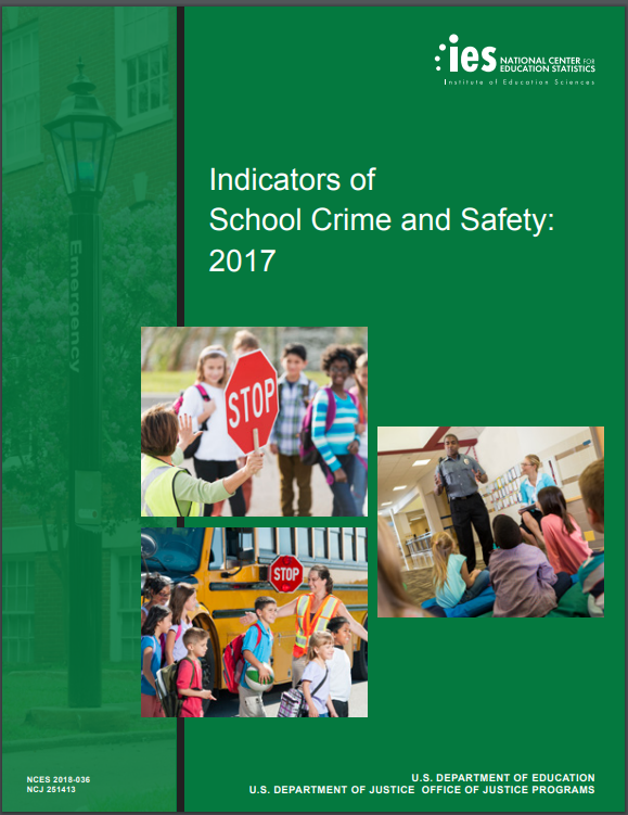 Nces Releases Condition Of Education >> Nces Data On Crime Discipline And Safety In Public Schools Cec