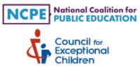 NCPE & CEC logos
