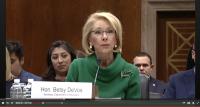 Betsy devos senate hearing