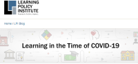 New Blog Series Learning in the Time of COVID-19