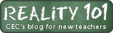 Reality 101: CEC's blog for new teachers